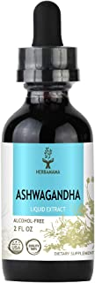 Ashwagandha Liquid Extract 2 fl oz   Organic Ashwagandha Root   Anxiety and Stress Relief   Thyroid Support   Sleep Aid   Alcohol-Free