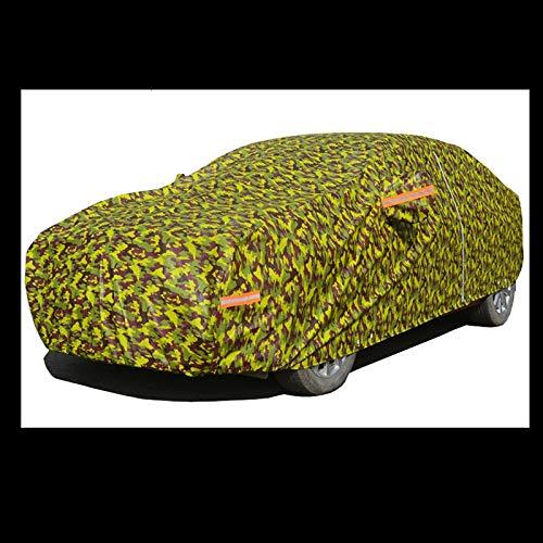 NYDZDM Auto Cover Zomer Waterdichte Zonnebrandcrème Stofhoes Regen En Sneeuwseizoenen Algemene Auto Kleding Jas Sunshade Camouflage Jas (Kleur : C)