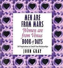 ت ُ عد للرجال من Mars للنساء من ، ت ُ ع َ د من VENUS ، كتاب من يوم ً ا