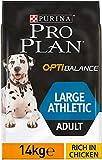 PRO PLAN Large Athletic Adult avec OPTIBALANCE Riche en Poulet - 14 KG - croquettes pour chiens adultes de grande taille