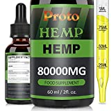 Best Hemp Oils - ProtoHemp Natural Oil,Contain Hemp Seed Oil,MCT Oil, NO Review