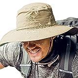 Cooltto Sombrero del Pescador,Gorro de Pesca,50+ UV protección Solar de...
