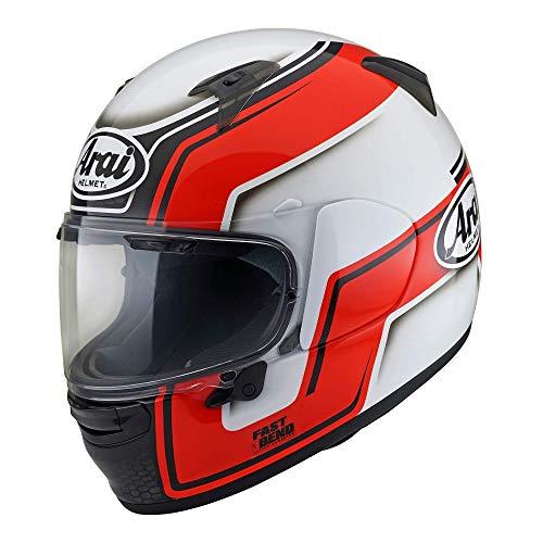 ARAI Profile V Bend Roja Casco Integral De Moto Tamano XS