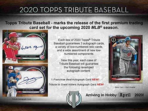 Baseball Wax Packs 2019 Topps Tribute Baseball Factory Sealed 6 Pack Hobby Box