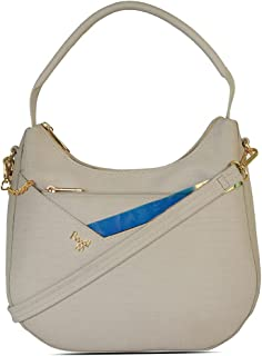 Baggit Women's Hobo Handbag (Grey)