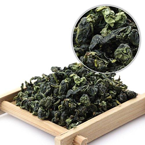 GOARTEA 1000g (35.2 Oz) Organic Nonpareil Supreme Fujian Anxi High Mount. Tie Guan Yin Tieguanyin Iron Goddess Chinese Oolong Tea Tee