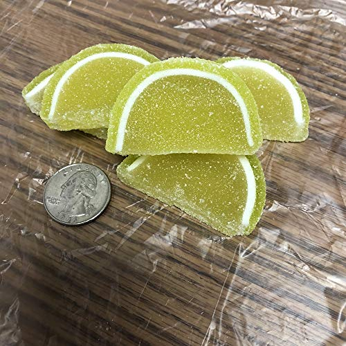 Cavalier Candies Fruit Slices Key Lime flavor jelly candy 1 pound