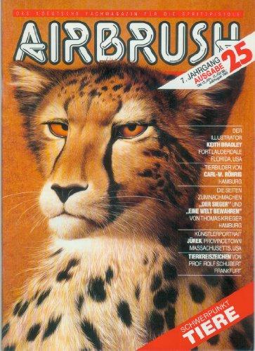 AIRBRUSH ZEITUNG 25/93 (Juli/August), 26/93 (September/Oktober), 27/93 (Dezember) [1993-7. Jahrgang, Das 1.Deutsche Fachmagazin für die Spritzpistole) - Recht, Autolackdesign, Modellbau, Atelierpraxis, digitales Design, Theorie) - AIRBRUSHZEITUNG
