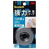 スコッチ(R) 強力両面テープ 凸凹面用 12 1.5KH-12
