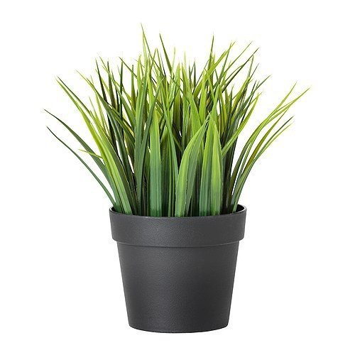 Ikea IKE-004.339.42 FEJKA künstliche Topfpflanze Gras