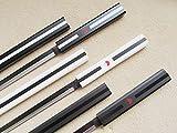 AIT Collectibles S2658 Anime Naruto Sasuke Kusanagi Grass Cutter Sword Gun Metal Blade LOT 3 40'