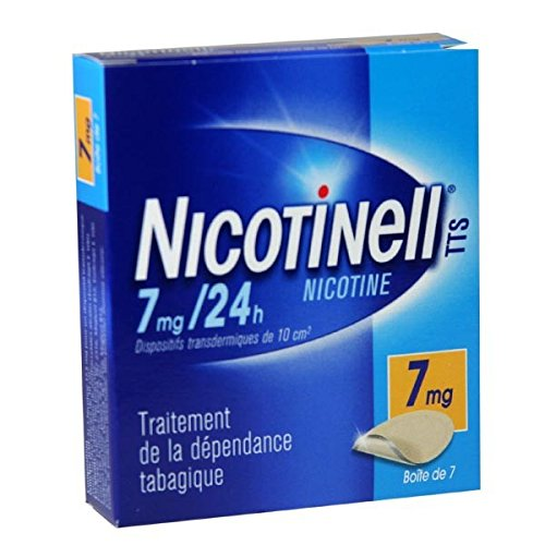 Nicotinell 7 MG 24 Hour Nicotine Patch Smoking Cessation - 28 Patches