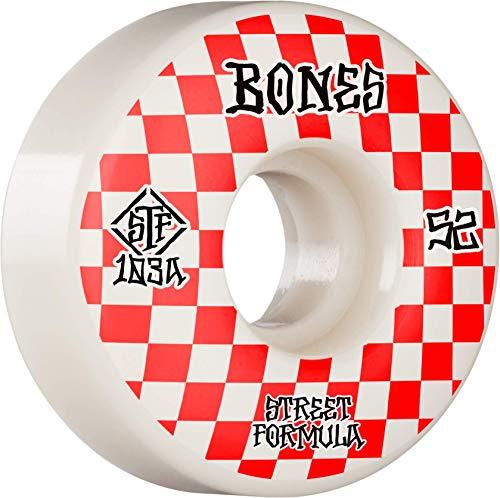 Bones Wheels Skateboardrollen STF Patterns V3 Slims 83B (White) 52mm