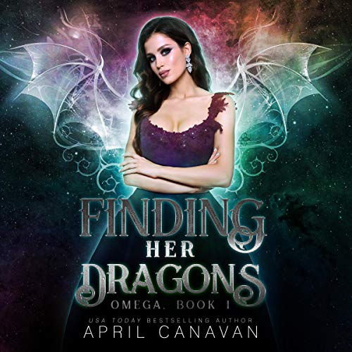 『Finding Her Dragons: A Reverse Harem Paranormal Romance』のカバーアート