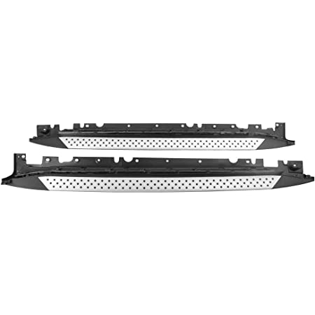 Running Board Compatible With 2016-2017 Mercedes Benz X253 GLC Class 16 17 Factory Style Side Step Nerf Bar Side Step Rails by IKON MOTORSPORTS