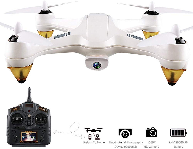 Professionelle Doppel-GPS-Drohne mit 1080P HD-Kamera,FPV RC-Drohne,Live-Video,5G WIFI RC Quadcopter mit Brushless-Motoren,Altitude Hold,Return Home,elektronischer Zaun für Anfnger drinnen drauen