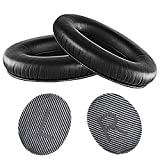 QuietComfort 35 II Kit de coussinets de rechange compatibles avec les casques Bluetooth sans fil Bose QuietComfort 35 II/(Série I) (Noir/Gris)