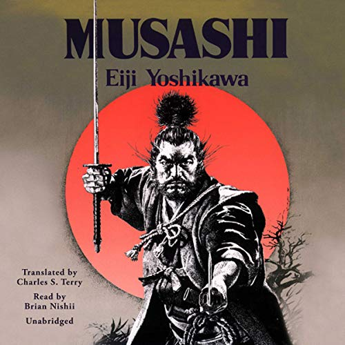 Musashi audiobook cover art