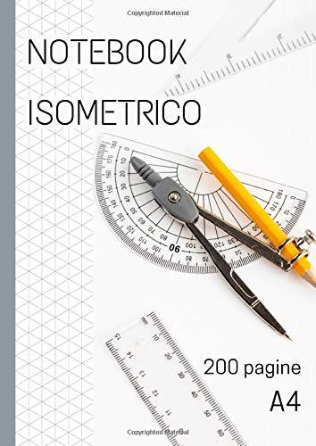 Notebook isometrico: carta millimetrata