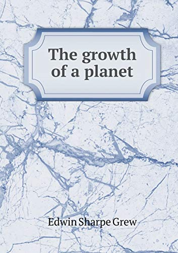 The Growth of a Planet