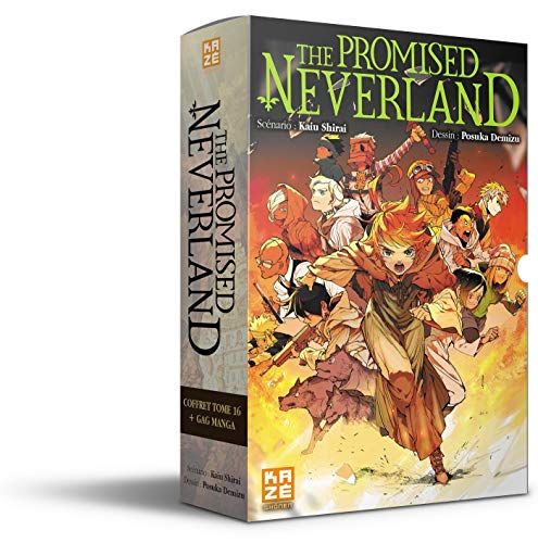 The Promised Neverland Coffret T16 + Gag Manga