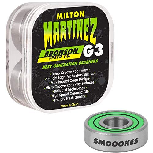 Bronson++ - Kugellager für Skateboards in green, Größe Einheitsgröße