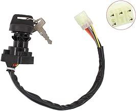Ignition Switch w/Keys for Suzuki King Quad 400 450 500 750 LTA400F LTF400F LTA450X LTA500 LTA750 Eiger 400 LTF400 LTF400F ATV