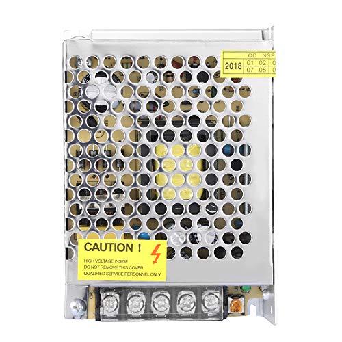 Fuente de alimentación estabilizada con luz LED de Potencia de conmutación Universal DC12V 6A, Fuente de alimentación conmutada Fuente de alimentación de Interruptor Universal