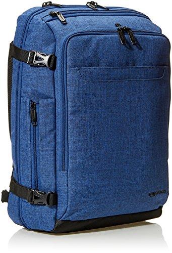 515t4uD29ZL - AmazonBasics - Mochila compacta de viaje, Azul, para viajes de fin de semana