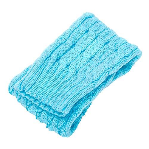 FAMILIZO Calcetines Mujeres Invierno Caliente Piernas Calentadores De Punto Crochet Calcetines Largos Calcetines De Alta Rodilla Tobilleros Antideslizantes