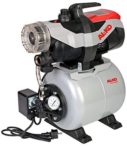 AL-KO Hauswasserwerk 3600 Easy (850 W Motorleistung, 3.600 l/h max. Förderleistung, 38 m max. Förderhöhe, 17 l Druckkessel)