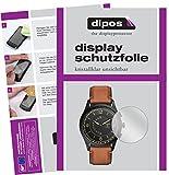 dipos I 6X Schutzfolie klar kompatibel mit Fossil Q Activist Folie Bildschirmschutzfolie