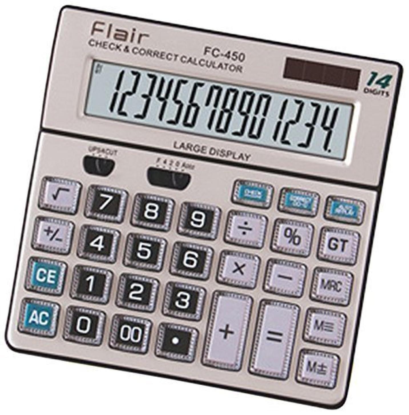 署名インフラ有罪Flairデスクトップ電卓