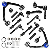 AUTOSAVER88 -Front Control Arm Kit Compatible with 1997-2004 Ford Expedition/F-150/F-250, 1998-2002 Lincoln Navigator -14pcs Front Suspension Kit(4WD Only)