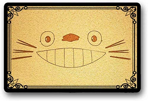 Solatman Totoro - Felpudo Antideslizante Suelo 45