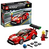 LEGO Speed Champions - Ferrari 488 GT3 'Scuderia Corsa', Juguete de Construcción de Coche de Carreras Rojo para Niños y Niñas de 7 a 14 Años (75886)