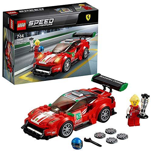 """LEGO- Speed Champions Ferrari GT """"Scuderia Corsa"""", Multicolore, 75886"""
