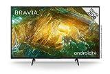 Sony KD-49XH8096 - Android TV 49 Pollici, Smart TV 4K HDR LED Ultra HD, con Assistenti Vocali Integrati, Modello 2020, Nero