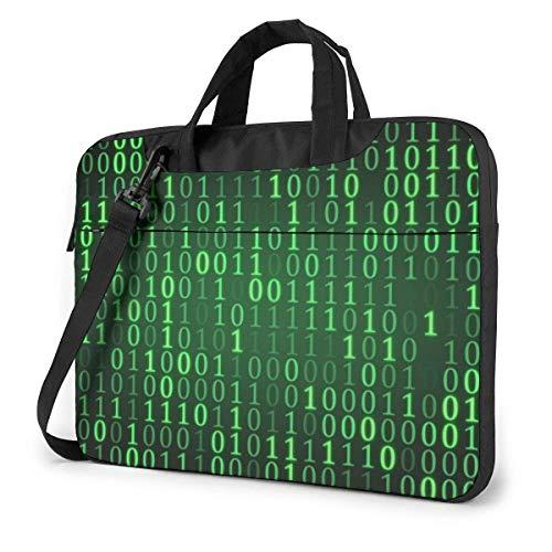 Laptop Umhängetasche Hacker Era 3 Gedruckte stoßfeste Laptop Umhängetasche Aktentasche 15,6 Zoll