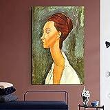 YuanMinglu Plakatdruck Leinwand Wandkunst Moderne Wand Ölgemälde rahmenloses Gemälde 75x116cm
