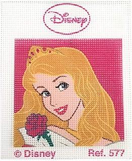 sch/önes Modell 574 18 x 15 cm Haberdashery Online Kit halben Punkt f/ür Kinder Sammlung Disney Princess