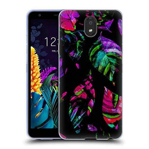 Officiële Haroulita Achterlicht Bladeren Soft Gel Case Compatibel voor LG K30 (2019)