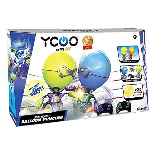 Rocco Giocattoli- Robo Kombat Ballon Puncher Gioco, Colori Assortiti, 88038