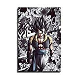 Póster de Dragon Ball Z para pared, diseño de dragón