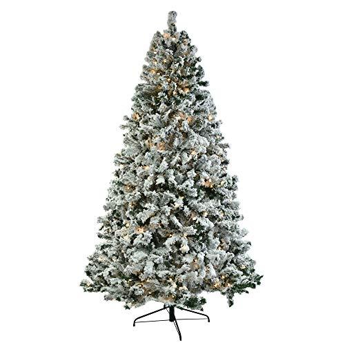 Árbol de Navidad de PVC de 2,3 m, estructura automática para árbol de Navidad, para casa, oficina, decoración de fiestas, fácil montaje