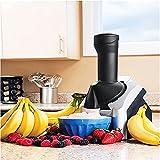 Máquina para Hacer Helados para El Hogar Fruta Fresca Portátil para El Hogar Máquina De Yogur Congelado para Servir Sorbete para Postres De Frutas Congeladas