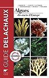 Algues des mers d'Europe. Près de 300 espèces décrites
