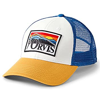 Orvis Men s Bent Rod Trucker Low Profile White