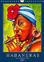 HABANERAS - Zigarren-Raucherinnen in Kuba (Wandkalender 2022 DIN A4 hoch): Zigarren-Raucherinnen in Havanna und auf Bildern (Monatskalender, 14 Seiten )