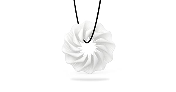 FESTNIGHT Tomfeel 3D Printed Jewelry Blooming Flower Elegant Modeling Pendant Jewelry Necklace Accessories